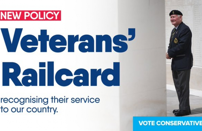 The new Veterans' Railcard