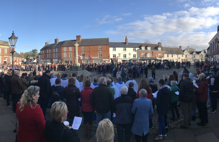 A full square at Market Bosworth